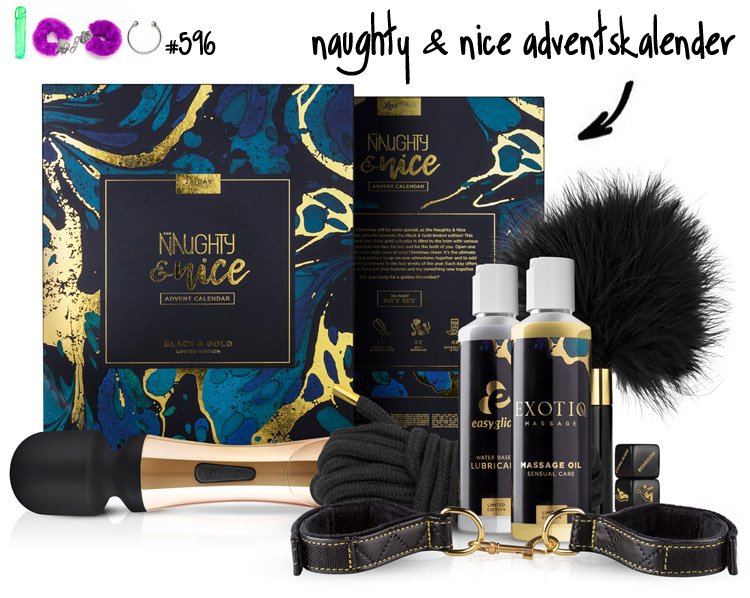 Dit is een afbeelding van naughty and nice adventskalender 2