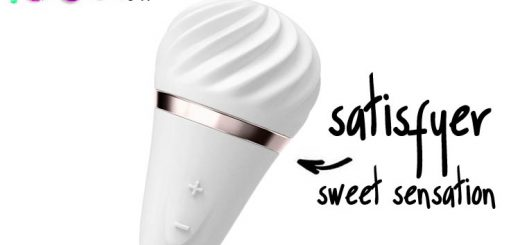 Dit is een afbeelding van sweet sensation satisfyer vibrator layon