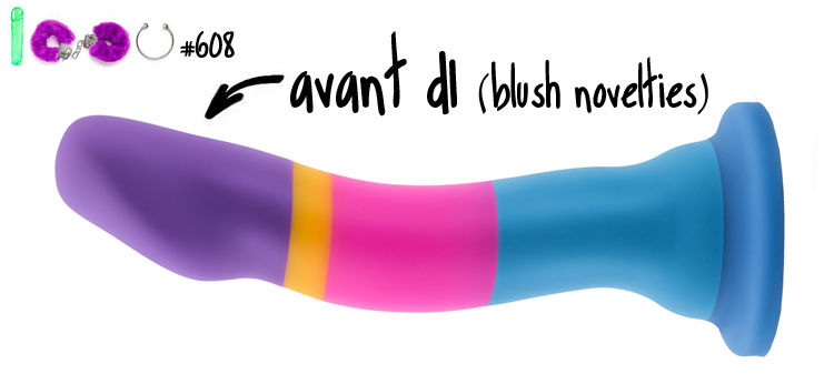 Dit is een afbeelding van avant dildo blush novelties