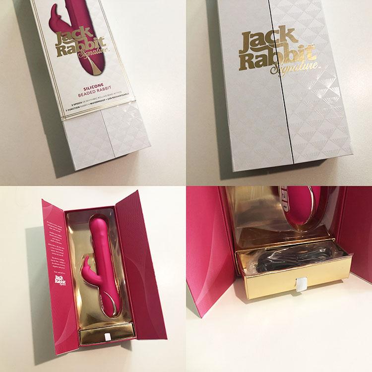 Dit is een afbeelding van verpakking rabbit vibrator