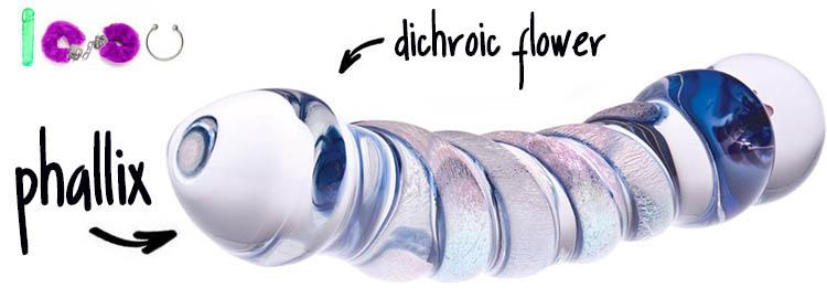 Dit is een afbeelding van phallix diochroic flower