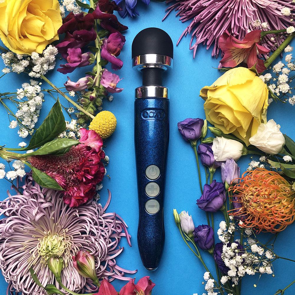 Dit is een afbeelding van doxy die cast 3r draadloos wand vibrator