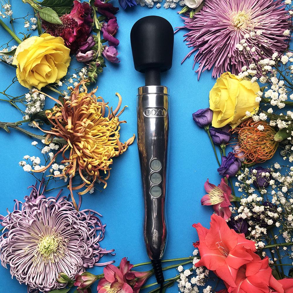 Dit is een afbeelding van doxy die cast wand vibrator