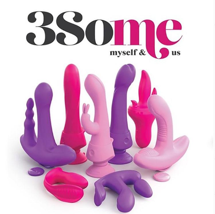 Dit is een afbeelding van pipedream 3some collectie