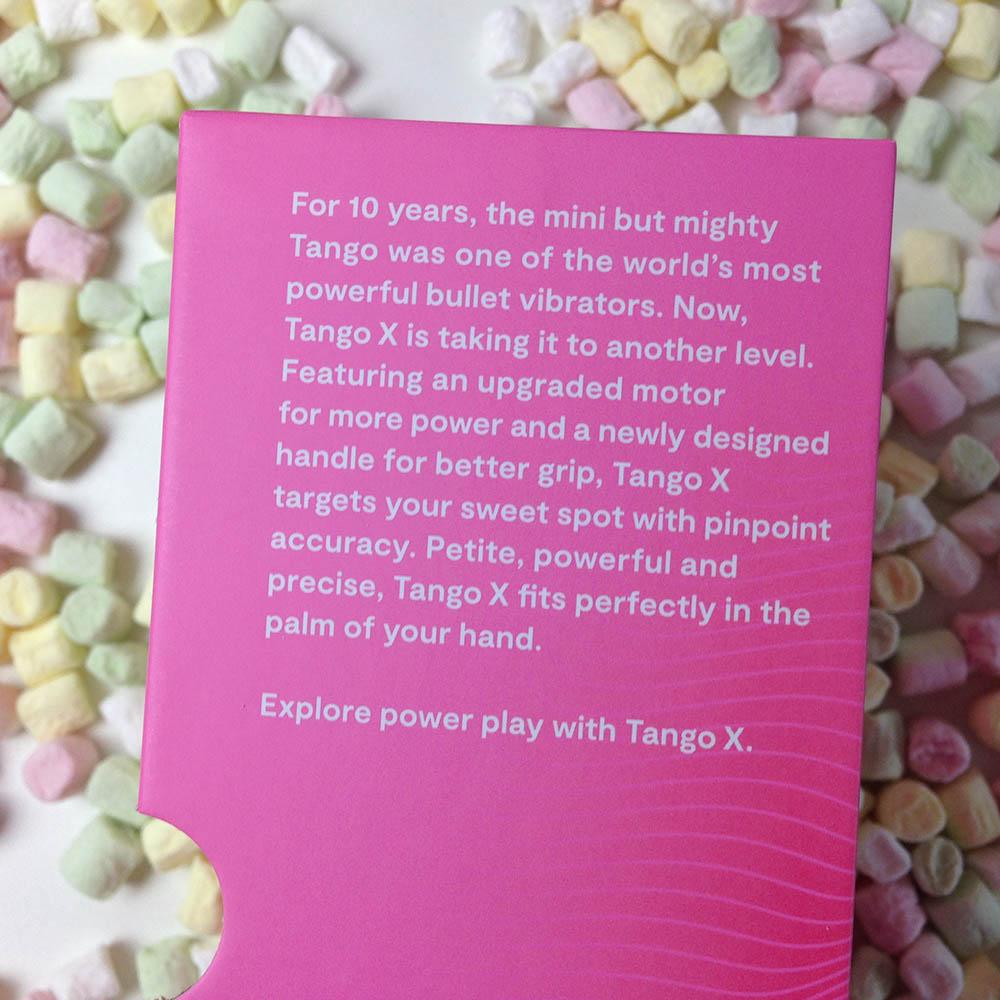 Dit is een afbeelding van tango x bullet vibrator