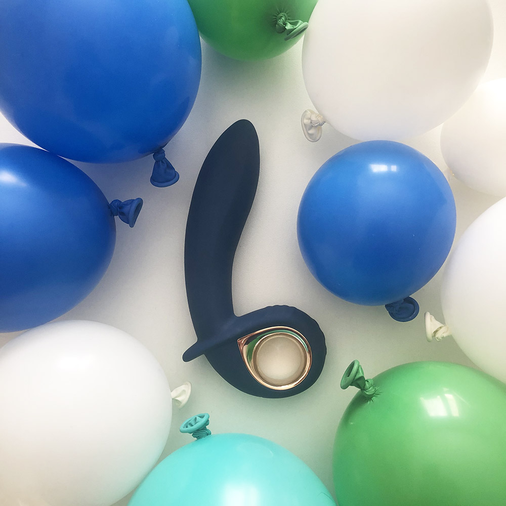 Dit is een afbeelding van petit you2toys opblaasbare vibrator