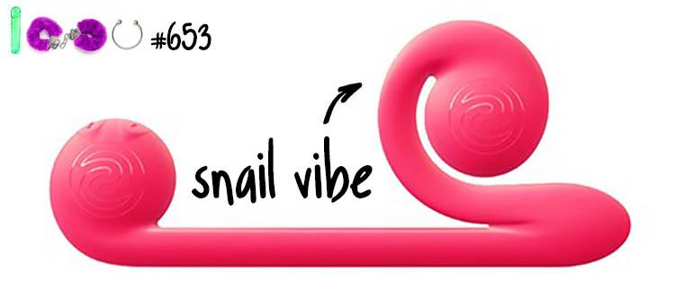 Dit is een afbeelding van snail vibe test getest review luna vibrator