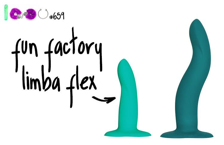 Dit is een afbeelding van fun factory limba flex s en limba flex m dildo