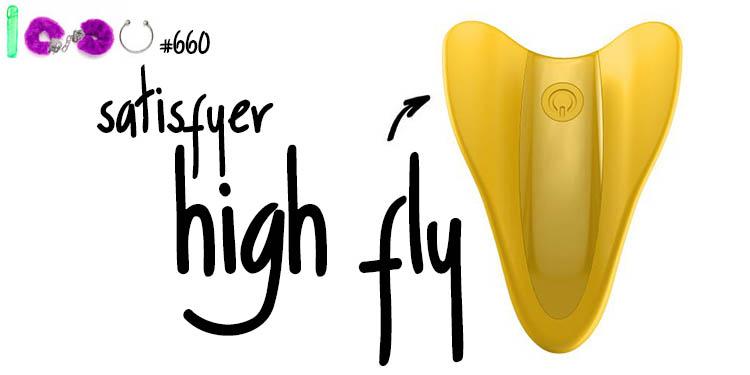 Dit is een afbeelding van satisfyer high fly vinger vibrator